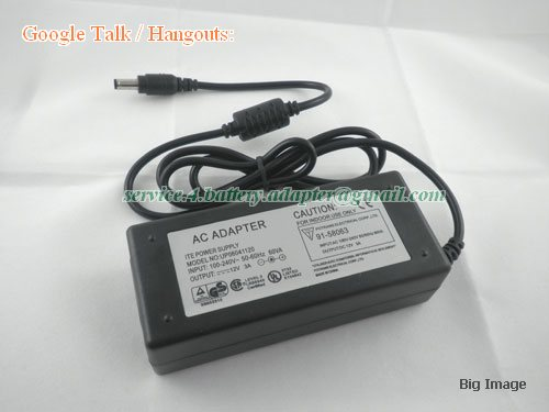 netherlands  12V 3A 36W LCD/Monitor/TV power adapter